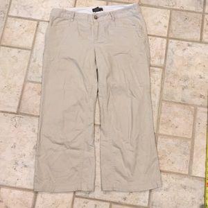 Banana Republic super soft cropped pants